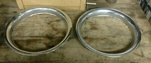 Ford Crown Victoria Chrome Wheel Trim Rings You Get Both 15 Inch Oem 1993 1997