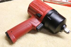 Snap on Tools Pt650 1 2 Drive Air Pneumatic Impact Wrench Heavy Duty Great