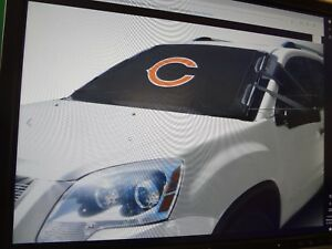 go Chicago Bears Frostguard Nfl Windshield Cover For Snow Frost And Ice new
