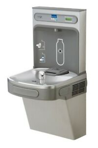 Elkay Ez H2o Drinking Fountain Ezs8wsvrlk Light Gray Granite