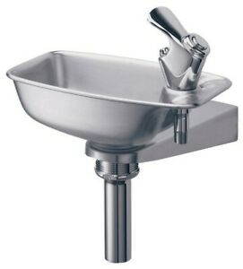 Elkay Drinking Fountain Edf15r Stainless Steel
