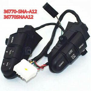 Car Steering Wheel Cruise Audio Remote Control Switch For Honda Fit Civic 09 11
