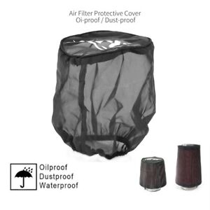 Air Filter Protective Cover Dustproof For High Flow Air Intake Filters Small New