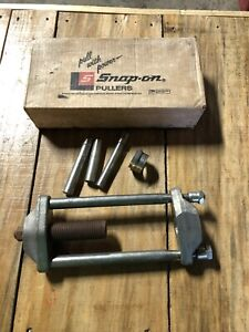 Snap On King Pin Puller Set With Original Box Very Nice Condition Clean Vintage