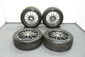 17 Oz Racing Superleggera 17x7 48 5x100 Rims Subaru Impreza Gc8 Gf8 With Tires