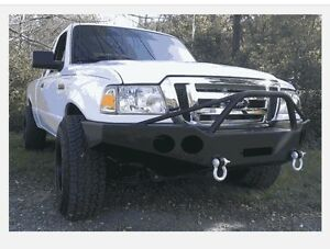 Ford Ranger 1998 2011 Winch Bumper Pre Runner Brush Guard Made In Usa