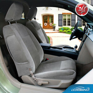 Coverking Velour Tailored Front Seat Covers For Ford Mustang Made To Order