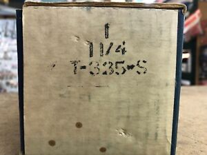 Nibco T 335 s 1 1 4 Angle Valve Threaded New In Original Box Usa