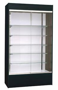 Lot Of 3 Massive 72 X 24 X 84 Glass Display Cases Cabinets retail 2400