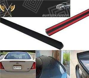 Fit 2001 2005 Honda Civic 4d Sedan Trunk Lip Spoiler