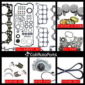 Fits 92 96 Honda Prelude 2 3l Dohc H23a1 Brand New Master Engine Rebuild Kit