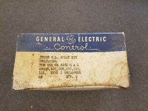 General Electric Ge Cr124c024 Overload Relay Kit For Size 0 1