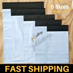 100 10 Mix Poly Mailers Shipping Envelopes Bags Set 2 5 Mil Thick Mailing Pack