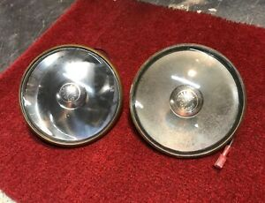 1948 1954 Gm Guide 5 Spotlight Lamps A Oem Used Pair