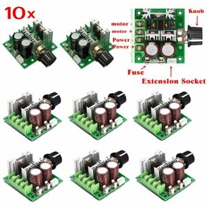 10x 12v 40v 10a Pulse Width Modulation Pwm Dc Motor Speed Control Switch 13khz T