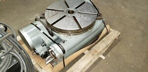 Yuasa Tilting Rotary Table 19 3 4 Top All Handles Good Working Order