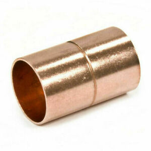 2 Inch Copper Solder Coupling With Stop Sweat Cxc