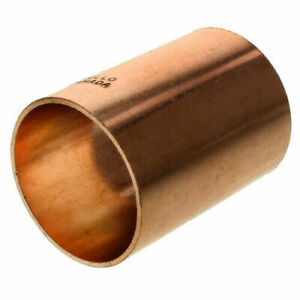 2 Inch Copper Solder Slip Coupling Without Stop Sweat Cxc