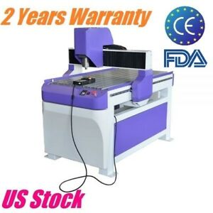 1 5kw 6090 Cnc Router Engraver 1500w Wood Engraving Machine Table Usb 900x600mm
