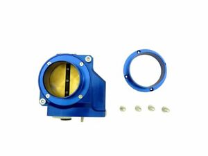 Obx R Blue Aluminum Individual Throttle Body For 08 15 Mitsubishi Lancer Evo 10