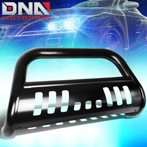 For 2018 2019 Jeep Wrangler 3 Stainless Steel Bull Bar Push Bumper Grill Guard