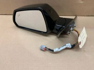 09 15 Cadillac Cts v Cts Driver Side Mirror Oem Gm Black Lh Used Left Blind Spot