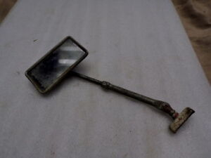 Vintage 1938 60 Chevy Ford Dodge Truck Pass Square Side View Mirror