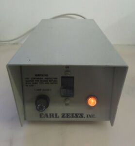 Carl Zeiss Electro Powerpac 1100 Microscope Lamp Power Supply 37 43v