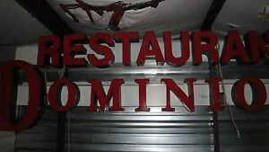 Commercial Restaurant Dominion Light Sign