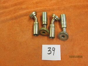 Lot 39 Weatherhead Crimp Hydraulic Fittings 4 Of 43008 g46
