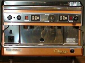 New Astoria 2 Group Espreso Machine Copper And Stainless