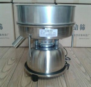 110v Electric Mechanical Powder Sieve Shaker Particles Vibrating Sieve Machine