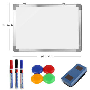 New Office School Home Magnetic Whiteboard Set Dry Erase Writing Board 18 X 24