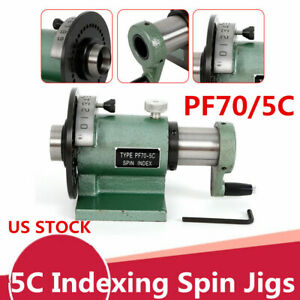 Heavy Duty 5c Indexing Spin Jig Fixture Model For Grinders Milling Machines