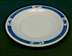 Antique Chinese Or Japanese Porcelain Bowl Blue And White Signed