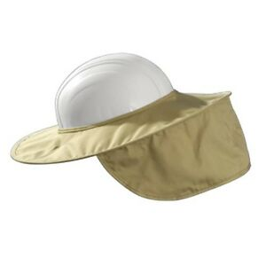 Lot Of 5 Miracool Stow away Hard Hat Shade Khaki 899k