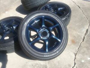 Oem Jdm Bbs S2000 Forged Wheels Rare Super Lightweight All Wider Rears 5x114 3