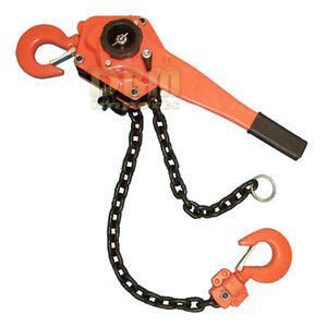 3 Ton Lever Block Hoist Lift Ratchet Chain Come Along 6000 Lbs Free Shipping