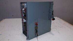 Remanufactured Square D Electrical Starter Motor Control Center Size 3 86950