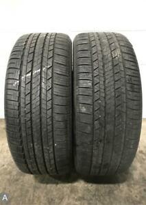 2x P235 45r18 Dunlop Sp Sport 7000 A S 8 9 32 Used Tires