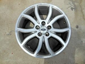 Ford Fusion 2010 2011 2012 18 Oem Factory Brushed Alloy Wheel Ae5j 1007 Bc