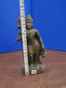 8 Antique Old Rare Hand Carved Stone Collectible Religious Shiva Sculpture Idol