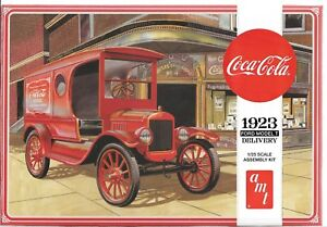 AMT Coca-Cola 1923 Ford Model T Delivery in 1/25 1024 ST