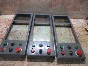 Brother Tc 201 Cnc Tapping Center Vertical Mill Main Operator Control Panel