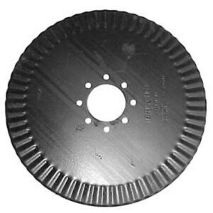 Qty 5 B45 1140 20 Fluted rippled Coulter Blade 7 Ga 3 11 16 Center Hole Dmi