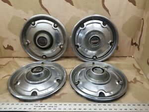 4 1970 1982 Gmc Pickup Truck Wheel Hub Caps Oem 15
