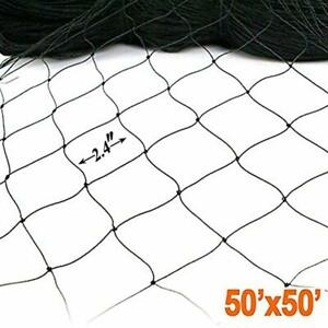 2 4 Square Mesh Garden Netting 50 X For Bird Poultry Aviary Game Pens Gift New