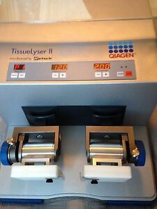 Qiagen Tissuelyser Ii 2 Retsch Mm400 Mixer Mill Grinder Lo Use Adapters 50 Off