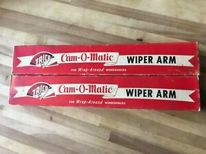 1955 1956 Cadillac Buick Trico Cam O Matic Wiper Arms Nos In Boxes