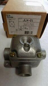 Brand New Killark hubbell Jlx 21 Electrical Conduit Outlet Boxes Jl Series